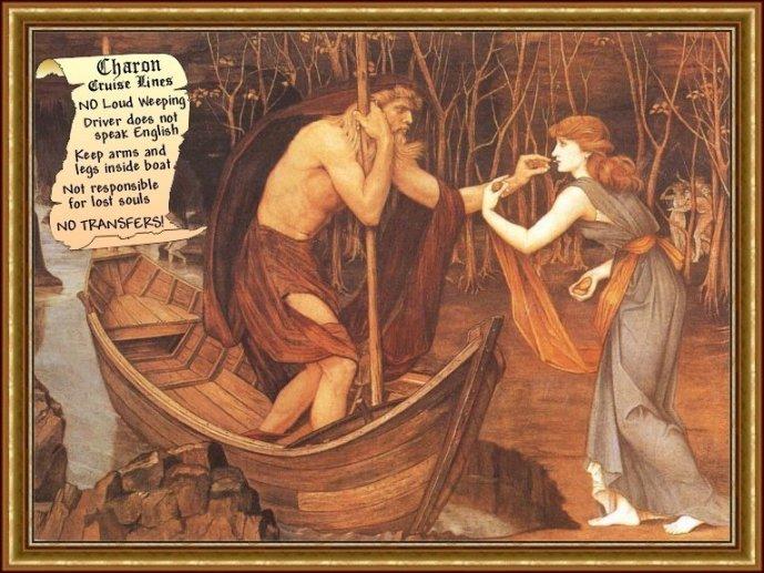 希腊神话诸神神图
